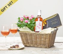 Luxury Rosé Wine Gift Basket Code: C00801PS | National and Local Delivery