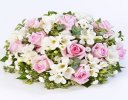Scented Pink and White Posy Code: F13441PS | National and Local Delivery