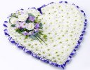 Lilac Classic White Heart Code: F13481LS | National and Local Delivery