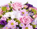 Classic Lilac and Pink Posy Code: F13090LS | National and Local Delivery