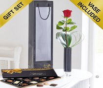 Single Red Rose Gift Set Code: C00241RS