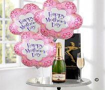 Mother's Day Delicious Celebration Bubbly Champagne Balloon Gift Set Code: JGFM2045MDB