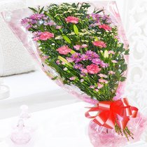 Gift Wrap Flower Bouquet. Code: JGF40215PGW ( Choose your colour...)