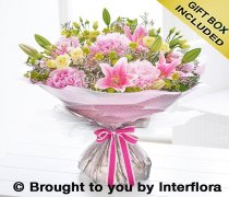 Extra Large Peony and Lily Hand-tied Code: H63543MS
