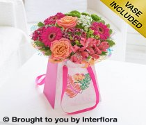 Summer Flower Gift Bag Code: H61971MS