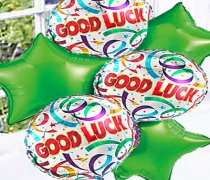 Good Luck Balloon Bouquet Code: 50694