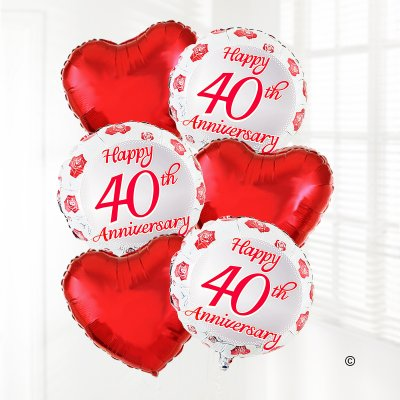 Happy Anniversary Balloon Bouquet Code: B5089