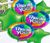 Thank You Balloon Bouquet Code: B5079