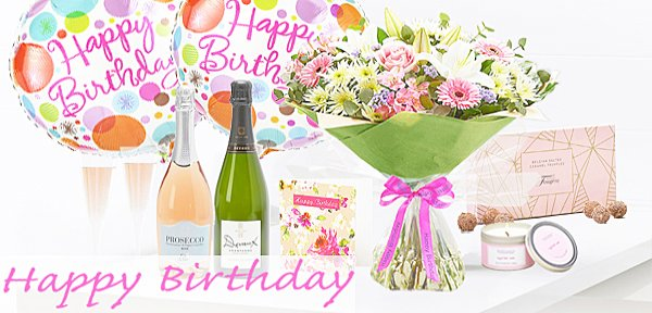 Happy Birthday Flower Delivery | Taunton Flowers